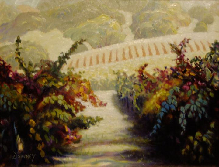 Vineyard in Alexander Valley - Carl Downey Art Gallery