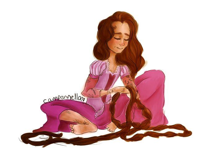 Rapunzel Harry - campannella