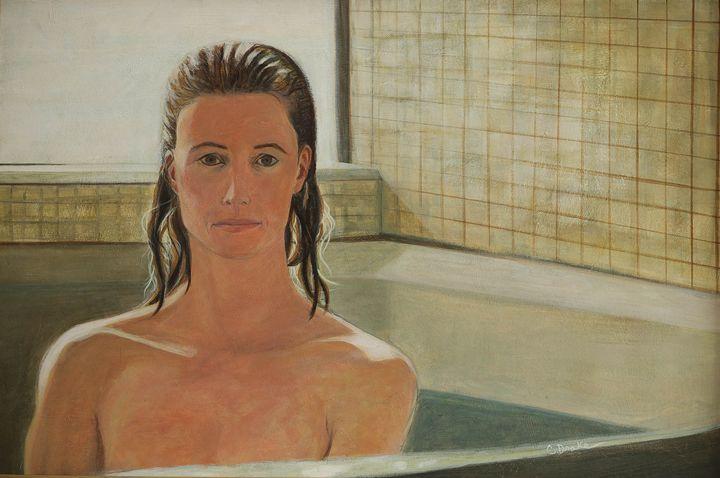 Woman in Bath - C Drake