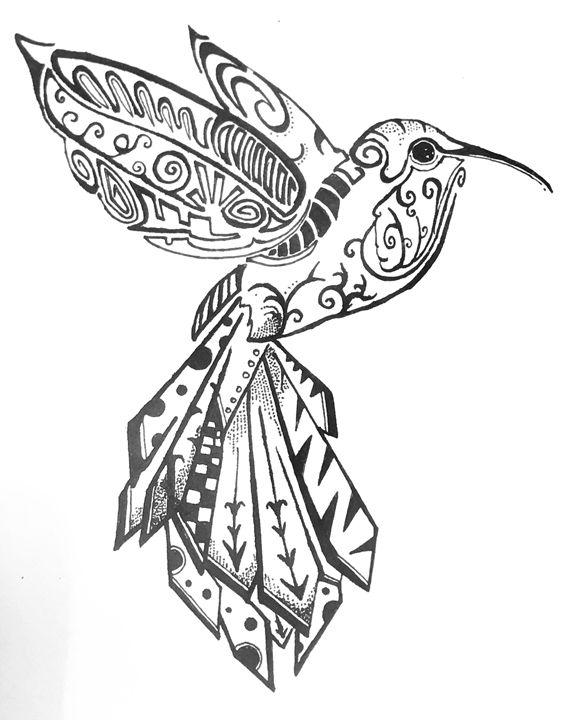 Bird of patterns.. - Denziel