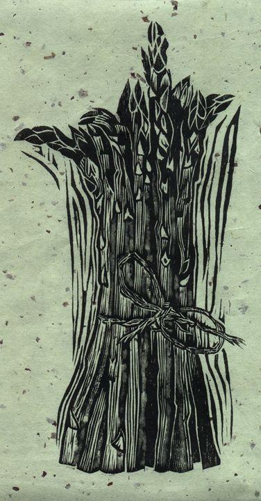 Asparagus - Arte Sobre Papel