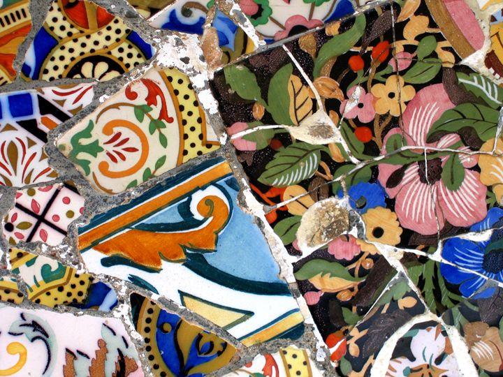 Mosaic #4 - Arte Sobre Papel
