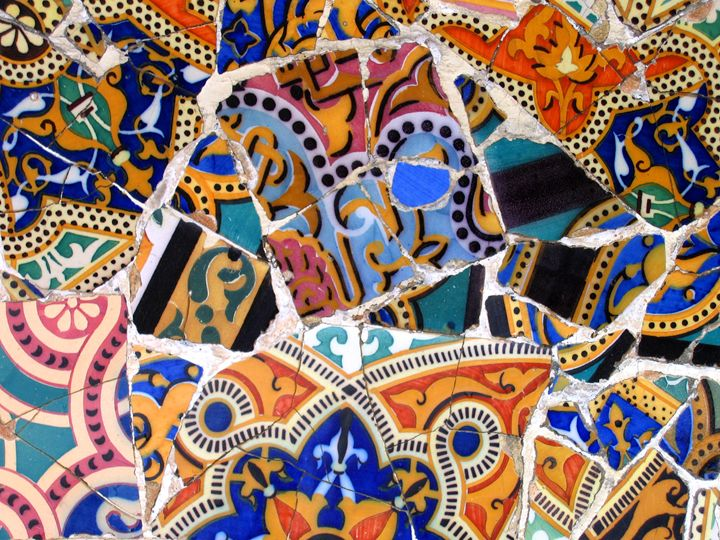 Mosaic #9 - Arte Sobre Papel