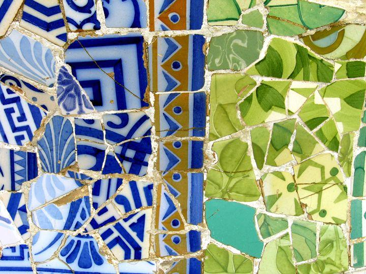 Mosaic # 12 - Arte Sobre Papel