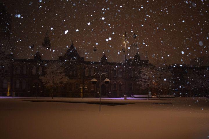 Winters Night - Hudson Galleries