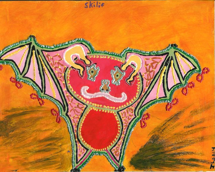 Skilif - Fractal Red Winged Bat - 5N1 {Epic Adventure}