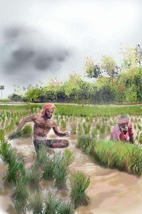 Digital art - ChandraSekharKumar Vuttaradi