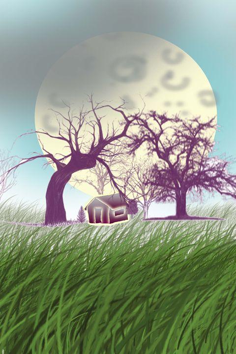 The moon illution - ChandraSekharKumar Vuttaradi