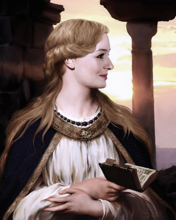 Princess of Ithilien - Anna Dominis Art