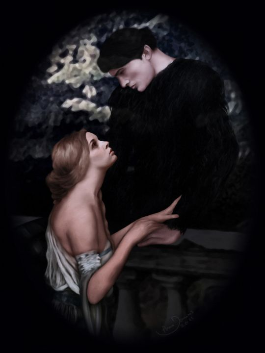 Beauty and the Beast - Anna Dominis Art