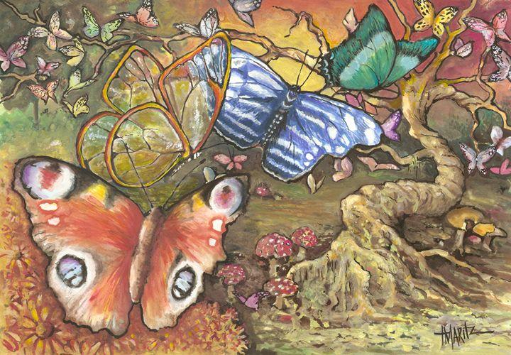 """""""butterflies"""" - terrymaritzart"""