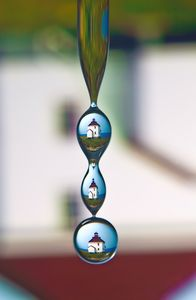 Queen's Port Lighthouse Droplet