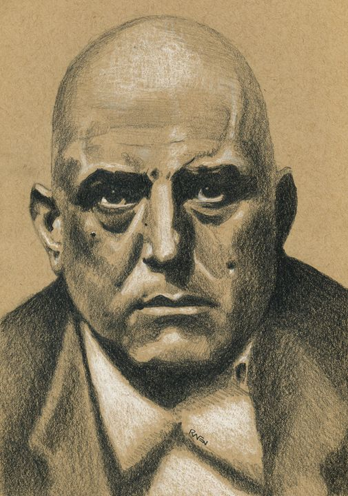 Occult Author Aleister Crowley - Raven Creature