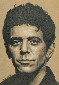 Lou Reed of Velvet Underground Portr