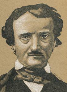 Edgar Allen Poe Portrait