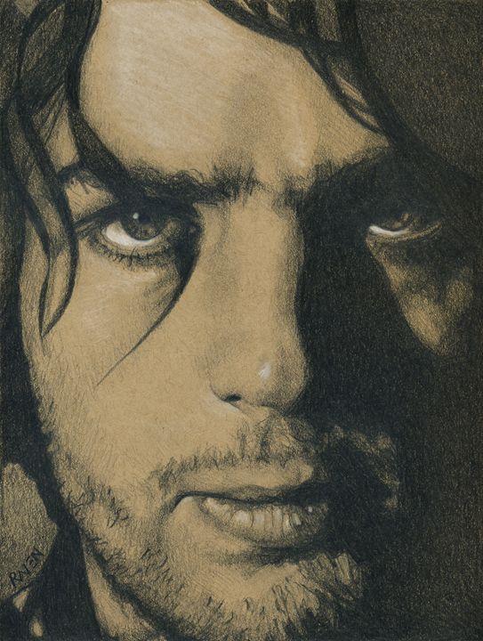 Syd Barrett of Pink Floyd - Raven Creature