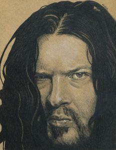 Dimebag Darrell Portrait