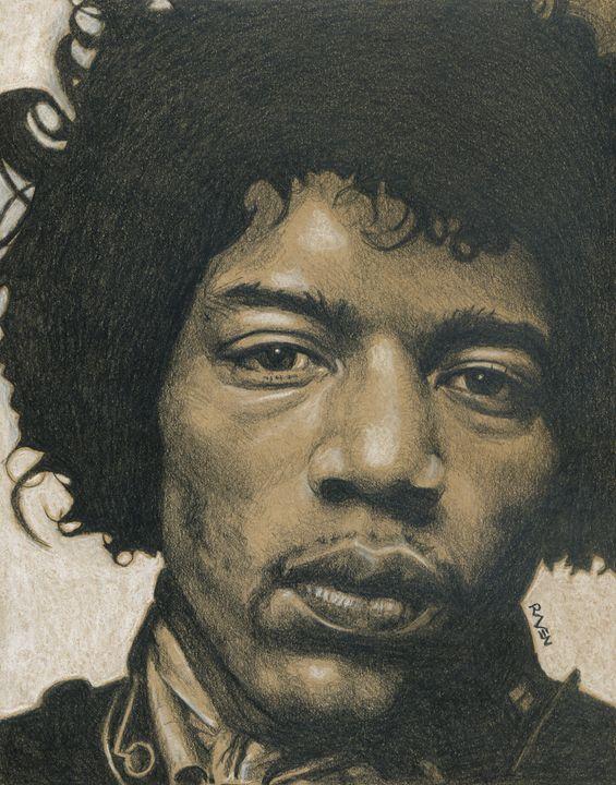 Jimi Hendrix - Raven Creature