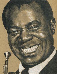 Satchmo Louis Armstrong Portrait