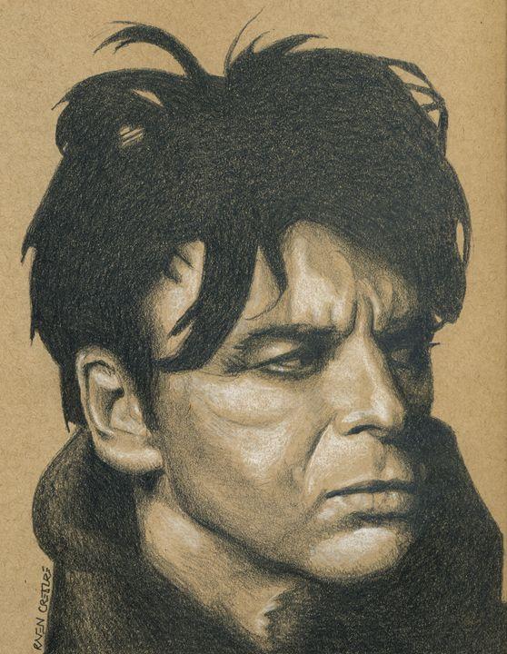 Gary Numan Portrait - Raven Creature