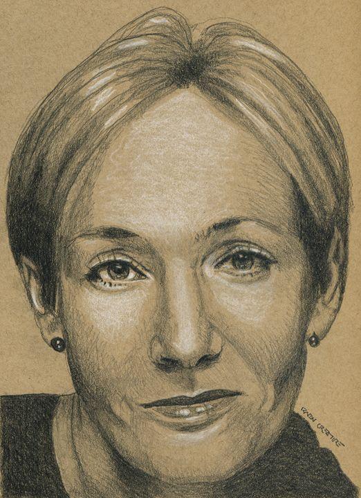 Harry Potter Author JK Rowling - Raven Creature