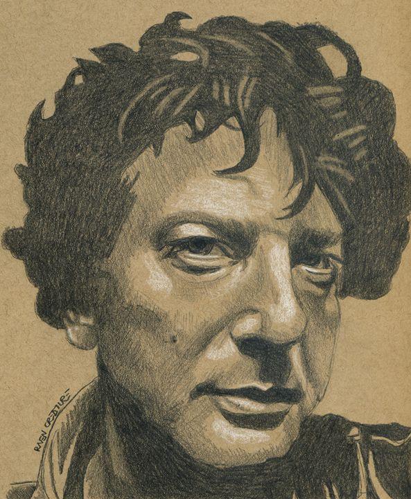Sandman Author Neil Gaiman - Raven Creature