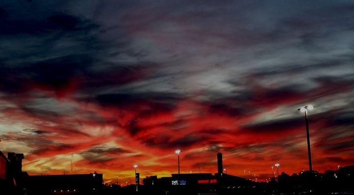 Red Sky at Night - Dara Vucetic