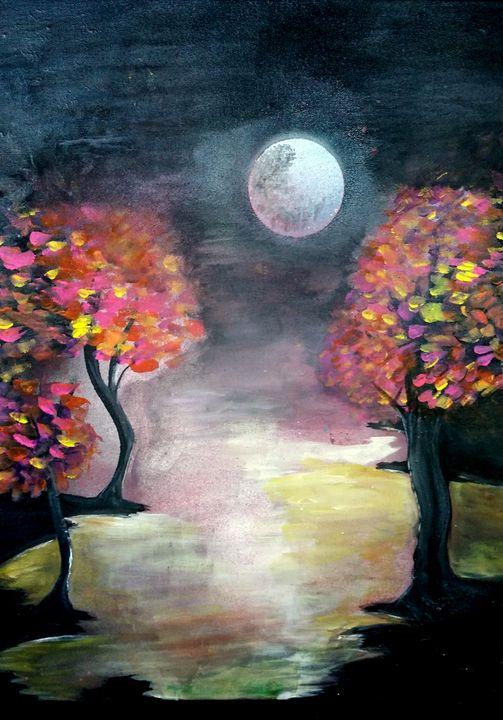 Moon Lite Meadow - Dara Vucetic