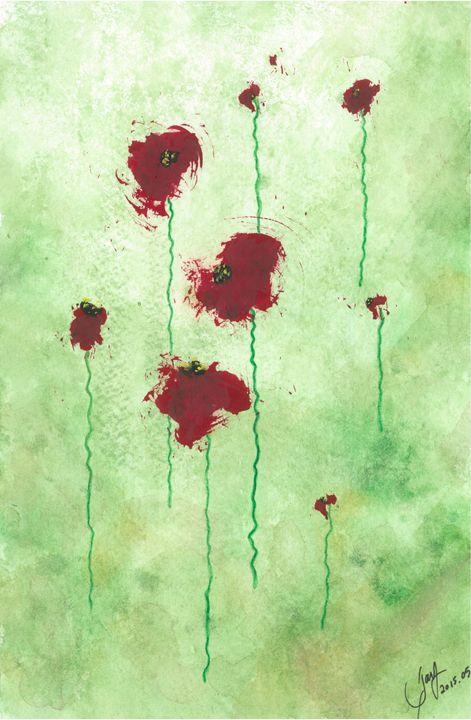 Poppies - Jayme Hunt
