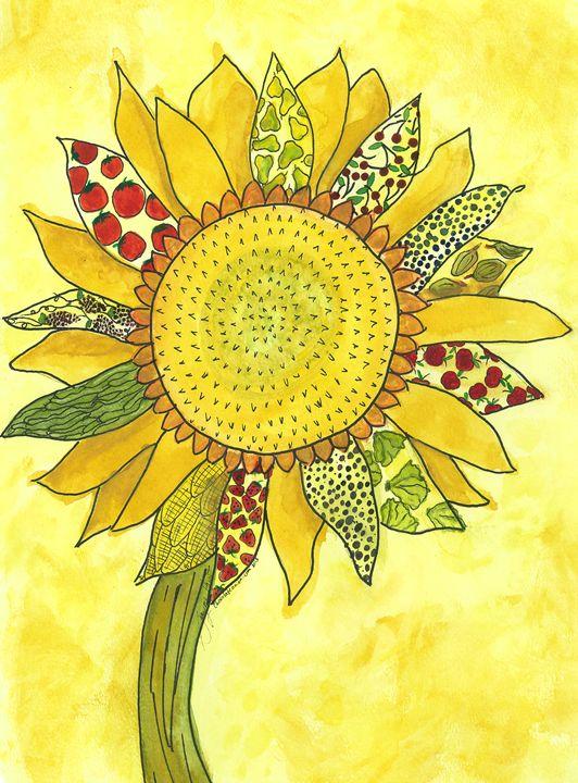 Harvest Sunflower - Jayme Hunt