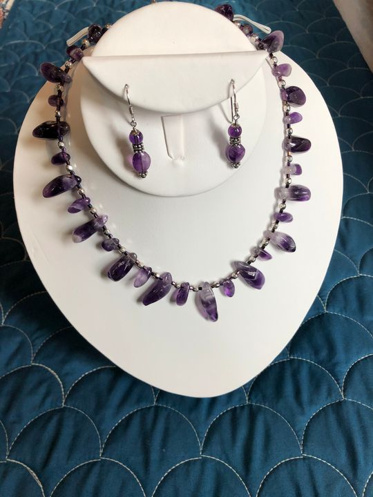 Gorgeous Amethyst Drops - Paula's Gallery