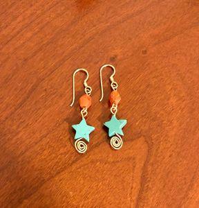 Turquoise Stars - Paula's Gallery
