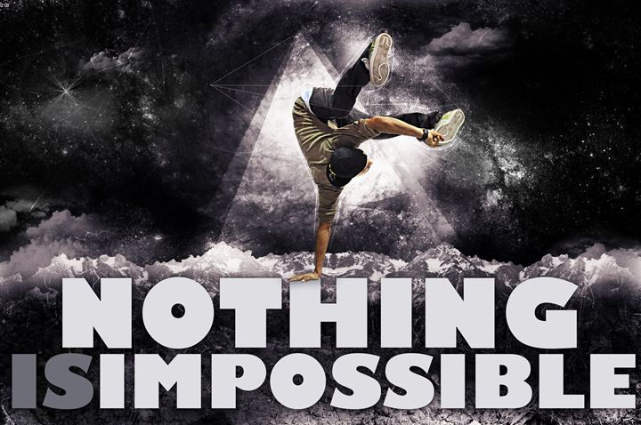 Nothing is impossible - Pete's Gallery