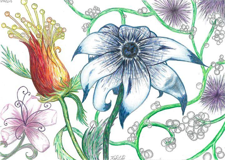 Dramatic Flowers - Mortifera