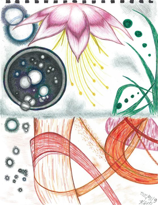 Petri Bubble Abstract - Mortifera