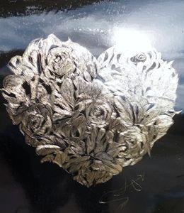 the flower heart