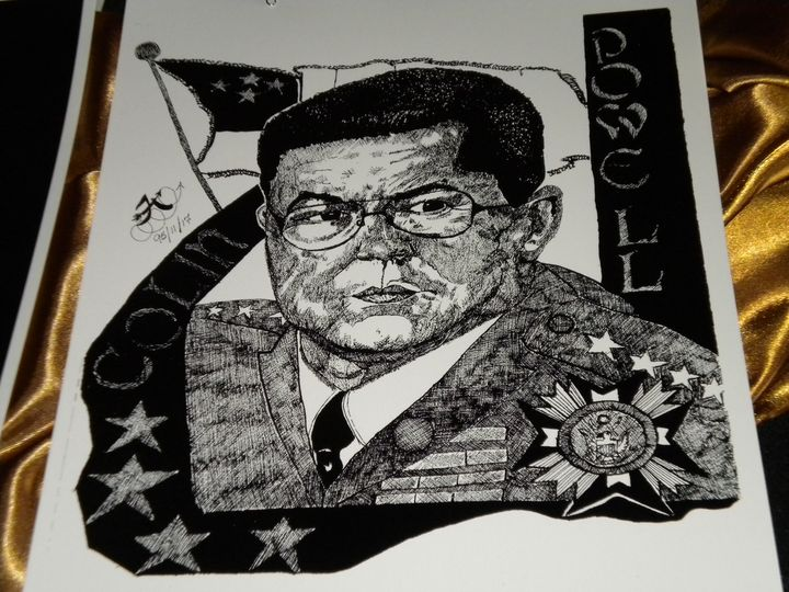 General Colin Powell - Franky'sartgallery