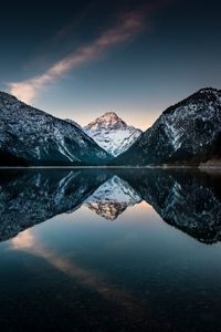 Blue hour at Plansee