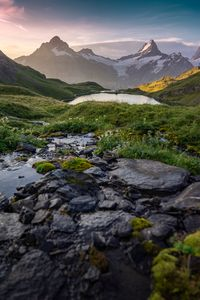 View of the Bernese Alps