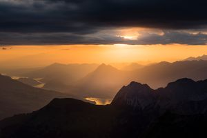 The Brienzer Rothorn at sunrise