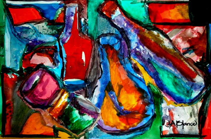 Bottle Clink - J. Alberto Blanco