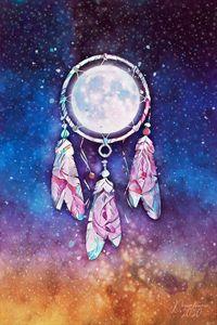 Fool Moon Dreamcatcher