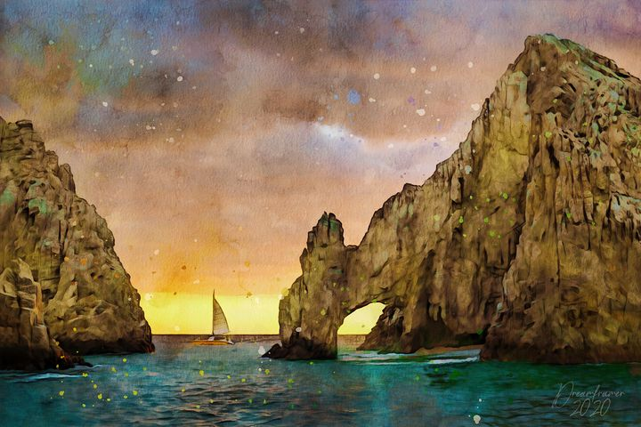 The Arch of Cabo San Lucas - Dreamframer Gallery