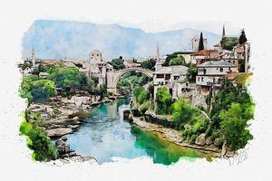 Mostar - Dreamframer Gallery