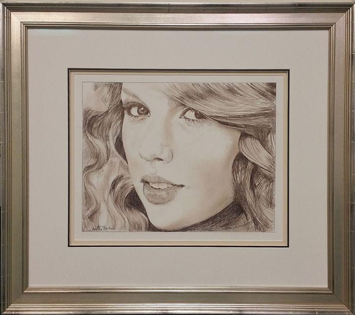Taylor Swift Drawing - Davis