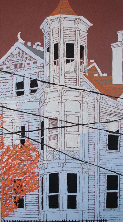Blue House - Andrew Levay