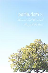 Psithurism