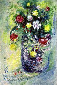 A Flower Pot - Dwijen Bora ART GALLERY