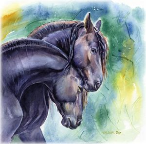 Love and horses