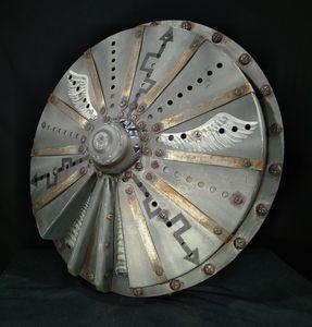 Roman Post-Apocalyptic Shield - Gadthebrand